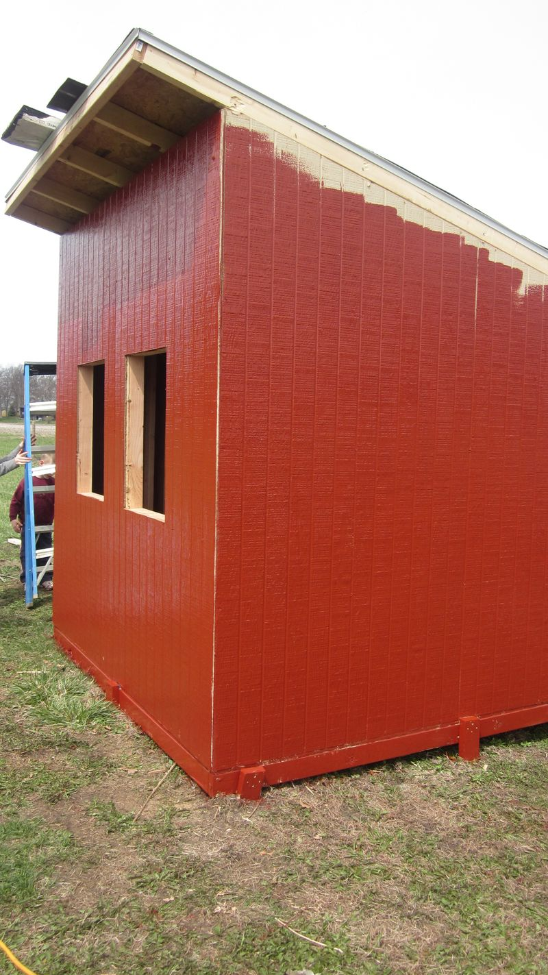 Working on the Chicken Coop 072